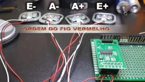 balança com Arduino - fio vermelho