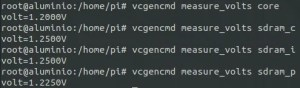 vcgencmd measure_volts