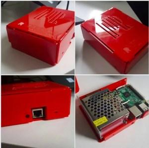 MQTT no Raspberry | fonte para raspberry - case especial para Raspberry