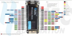 Heltec Stick Pinout - Color picker com ESP32