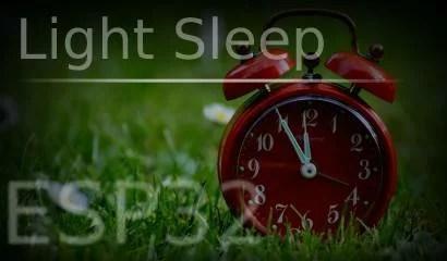 light sleep no esp32