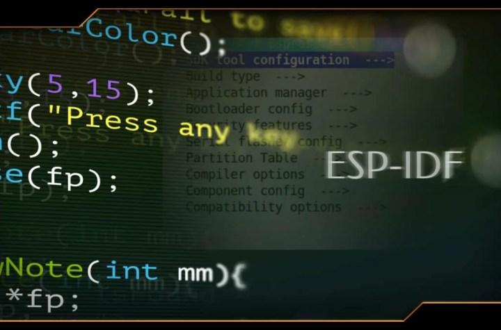 configurar o esp-idf