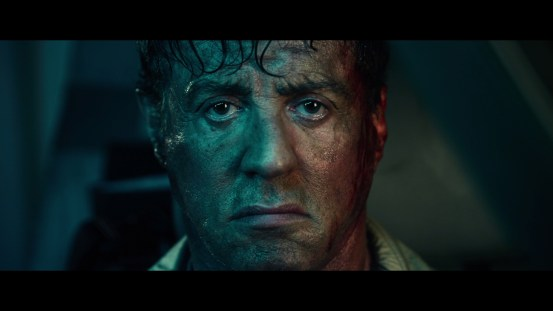 Stallone in a color test for this movie @ 26:02