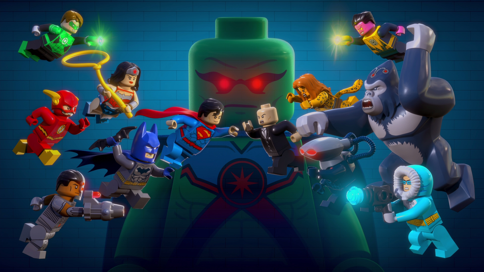 LEGO Justice League: Attack of the Legion of Doom! Blu-ray