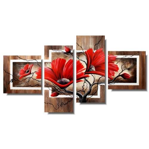 kwiaty obrazy 1179AB