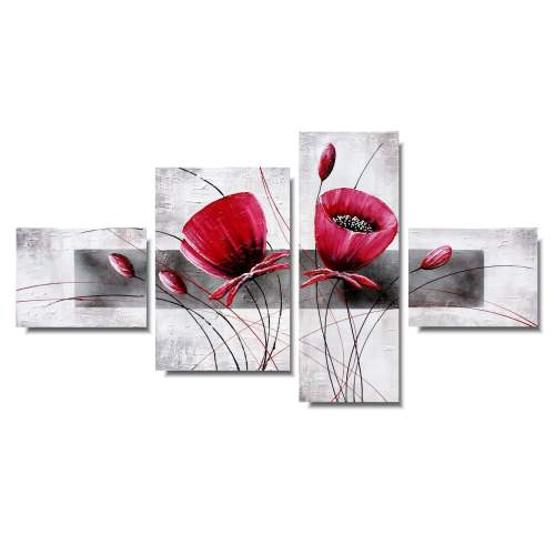 kwiaty obrazy 1006AB