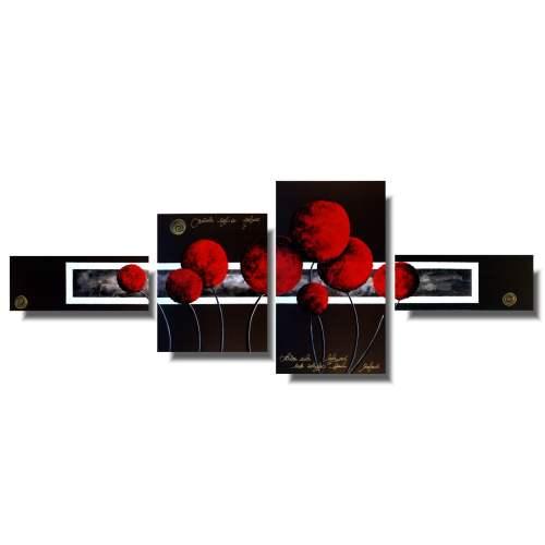 Obrazy dmuchawce czerwone kule