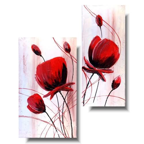 Obrazy kwiaty wiosenne