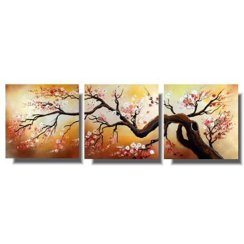 Tryptyk zjawiskowa japońska wiśnia