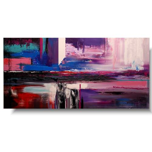 Obrazy abstrakcje słodka przestrzeń