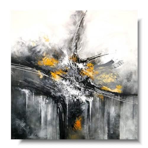 Elegancki obraz premium abstrakcja amplituda