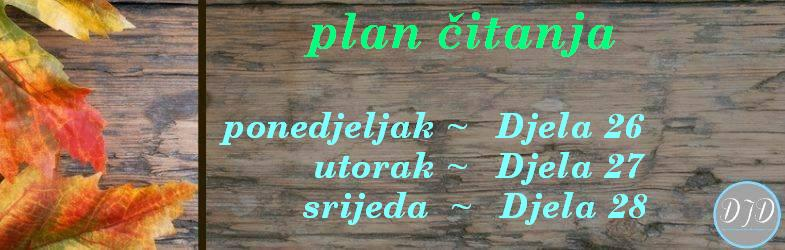 plan čitanja -6. tjedan