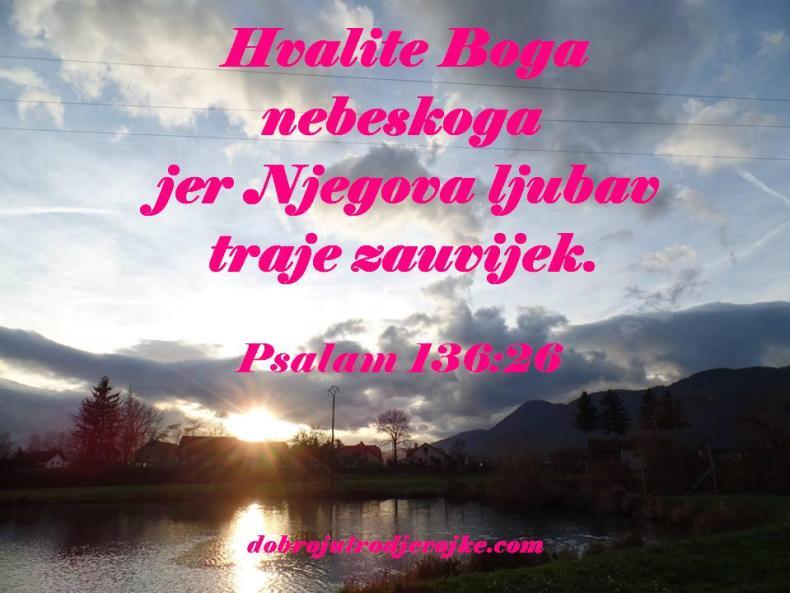 10 - psalam 136-26