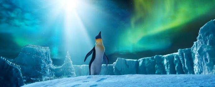 "(L-r) Gloria, voiced by ALECIA MOORE (P!NK), in Warner Bros. Pictures' and Village Roadshow Pictures' animated family comedy adventure ""HAPPY FEET TWO,"" a Warner Bros. Pictures release."
