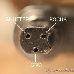 Usb Plug Wiring Diagram Roller Shutter Switch Www.doc-diy.net :: Camera Remote Release Pinout List