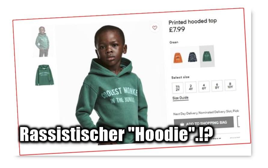 """[ Affig.!? } H&M-Model ist """"coolster Affe"""", wirklich ein Rassismus-Eklat.!?"""