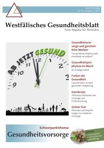Westfälisches Gesundheitsblatt