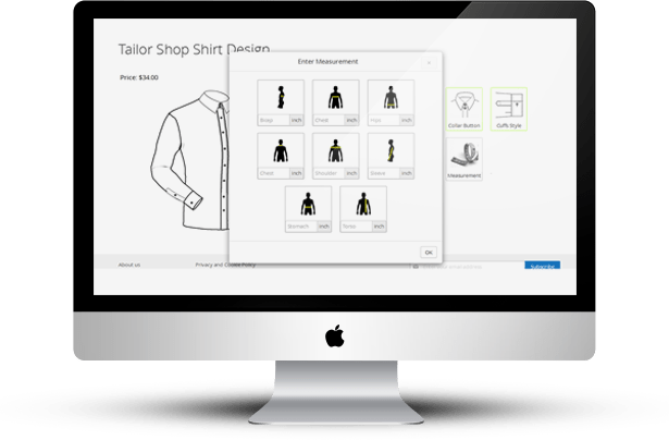 Magento Tailored Shirt Design Online - 18