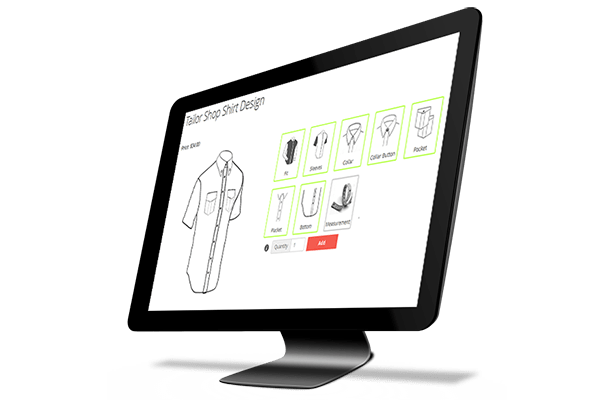 Magento Tailored Shirt Design Online - 22