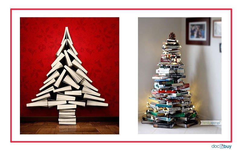 decorazioni-natalizie-albero-libri