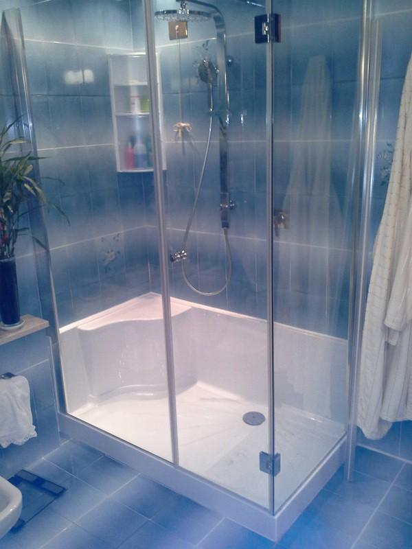 Box doccia su misura piatti e cabine multifunzione a