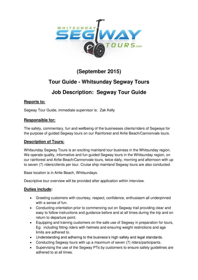 tour guide resume cover letter 4 voip tester letter. tour guide ...