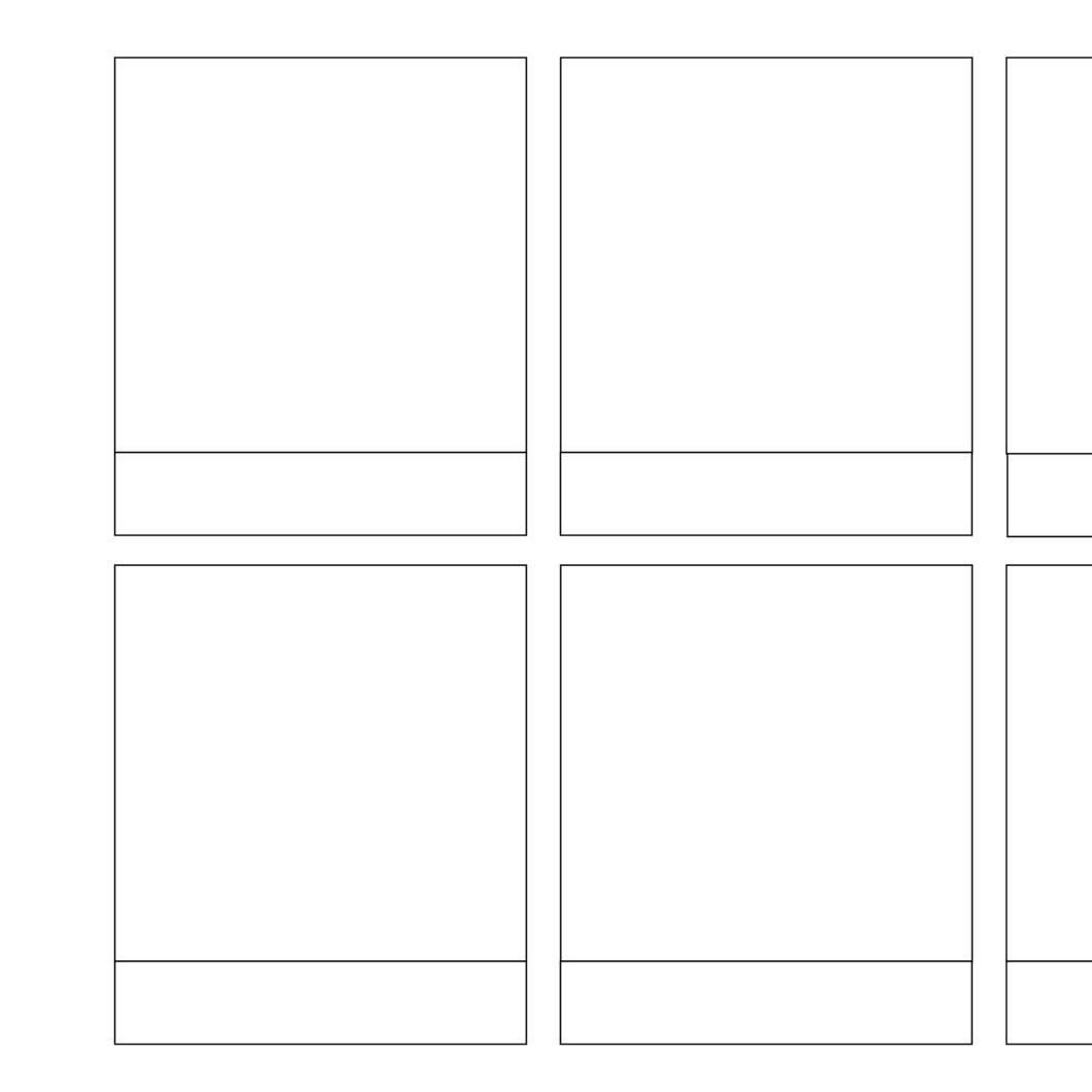 Blank Comic Strip