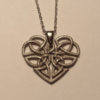 Heart Celtic Knot Nickel