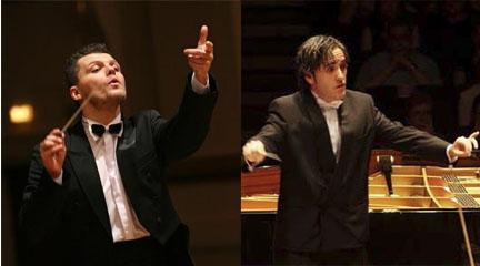 Perlowski y Manuel Godoy, 1º y 2º premio II Concurso Dirección de la Orquesta de Córdoba