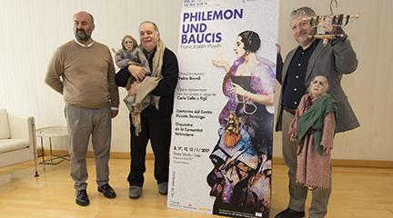 lirica  El Palau de les Arts abre el año con la ópera para marionetas de Haydn Philemon und Baucis