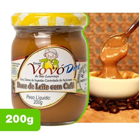 Deliciosa receita diet caseira de doce de leite com café