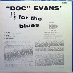 Doc Evans LP RX for the Blues