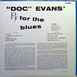 Doc Evans LP RX for the Blues