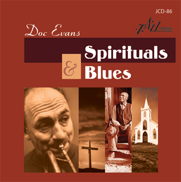 Doc Evans Spirituals and Blues CD Jazzology JCD-86