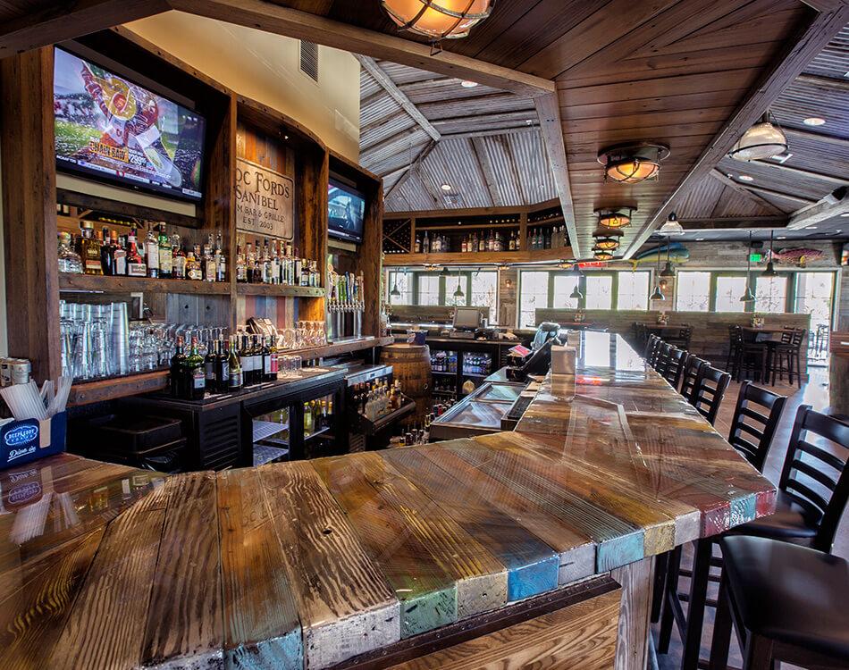 Doc Fords Rum Bar  Grille  Sanibel Restaurants  Seafood