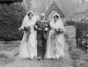 Diana, John and Marie Steward Newby