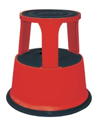 Red Rolling Step Stools, Red Commercial Rolling Step ...