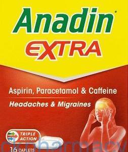 Anadin Extra, 16 Caplets