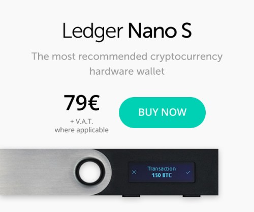 ledger nano s bitcoin wallet