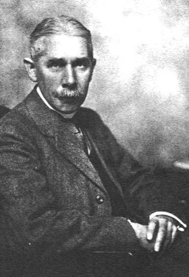 Portrait of Frank Carr Nicholson