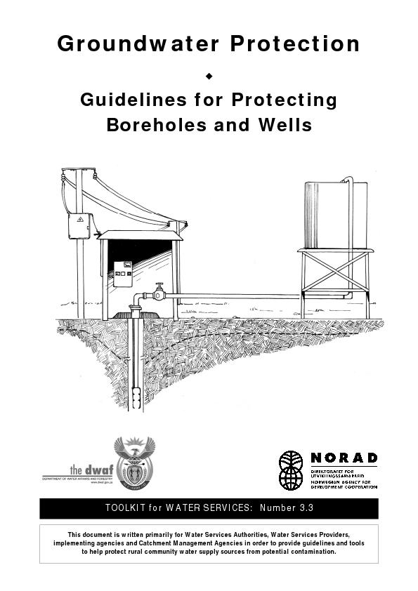 Groundwater Protection Guidelines for ProtectingBoreholes