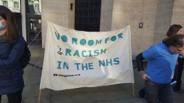 no room for racism in the nhs