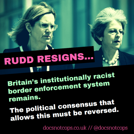 Britain's institutionally racist border enforcement system remains