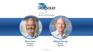 DocSolid Webinar - Create a Digital Mailroom with Airmail2