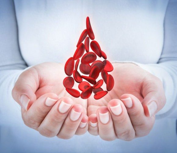 What causes low ferritin levels?