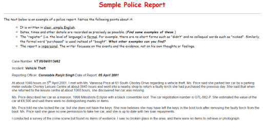 police report template 39641