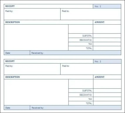 sales receipt template 294