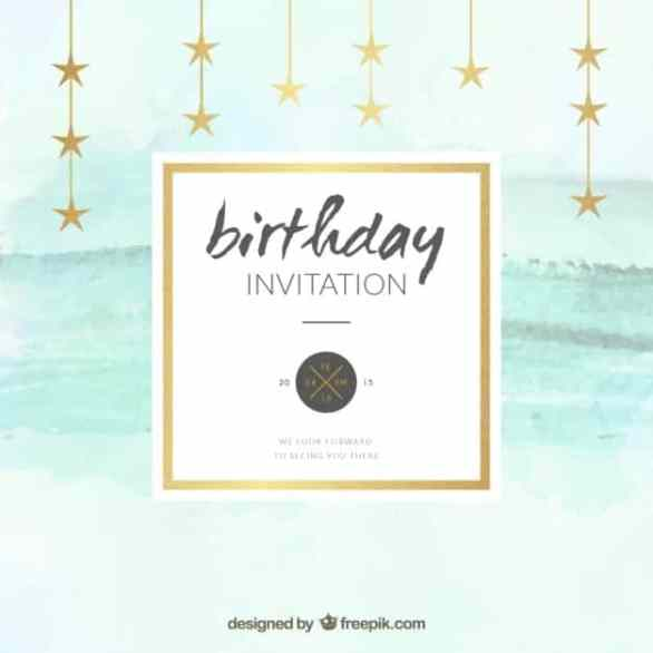 Birthday invitation Templates 2641