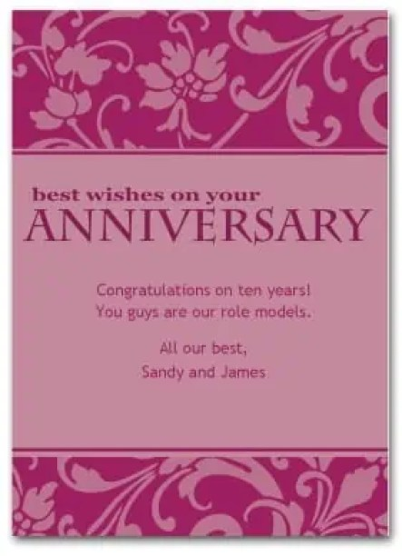 anniversary card template 154