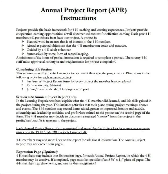 Top  Resources To Get Free Project Report Templates  Word